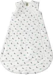 ALANA Baby Schlafsack, 70 cm, in Bio-Baumwolle und recyceltem Polyester, weiß, blau