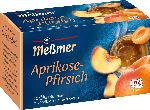 dm-drogerie markt Meßmer Früchte-Tee, Aprikose & Pfirsich (20x2,75g)