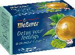 dm-drogerie markt Meßmer Kräuter-Tee, detox your feelings, Brennessel & grüner Tee