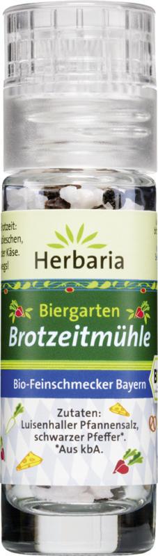 Biergarten-Brotzeit Mini-Mühle
