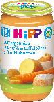 dm-drogerie markt Hipp Kindermenü Buttergemüse mit Süßkartoffelpüree & Bio-Hühnchen ab 12. Monat