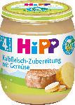dm-drogerie markt Hipp Zubereitung Kalbfleisch mit Gemüse nach dem 4. Monat