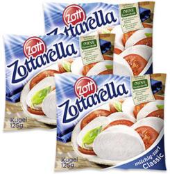 Zottarella Mozzarella Classic 45 % Fett i. Tr., jede 125-g-Packung