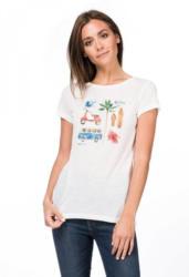 SUPER.NATURAL T-Shirt »W DIGITAL PRINT TEE«