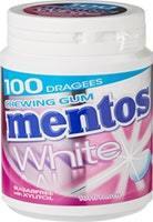Mentos Gum Bottle White