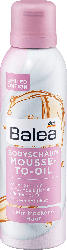 Balea Body Mousse Mousse-to-Oil