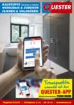 Quester Baustoffhandel GmbH Quester Flugblatt 03.10. bis 20.10. Baustoffe & Fliesen - bis 20.10.2019