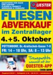 Quester Quester Flugblatt 03.10. bis 20.10. Baustoffe & Fliesen Wien und Umgebung - bis 05.10.2019