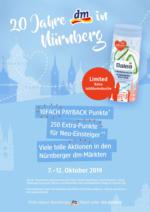 20 Jahre dm in Nürnberg