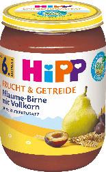 Hipp Frucht & Getreide Pflaume-Birne mit Vollkorn ab 6. Monat
