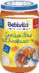 dm-drogerie markt Bebivita Kindermenü Gemüse-Reis mit Rindfleisch ab 12. Monat