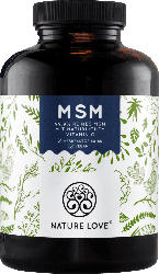Nature Love MSM Tabletten mit Vitamin C 365 Stück