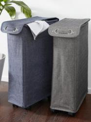 heine home Wäschesammler mit aufklappbarem Deckel