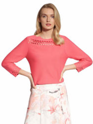 Basler 3/4 Arm-Pullover »mit Cut-Out«