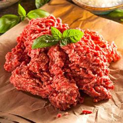 Hackfleisch gemischt aus Schweine- und Rindfleisch,  je 1 kg