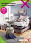 MömaX Matratzen, Betten und Bettensysteme - bis 22.02.2020