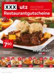 XXXLutz Restaurantgutscheine - bis 26.10.2019