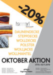 Hammerl TextilCare Hammerl TextilCare Oktober Aktion - bis 02.11.2019