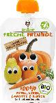 dm-drogerie markt Freche Freunde Quetschbeutel 100% Apfel, Birne, Karotte & Kürbis ab 1 Jahr