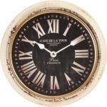 mömax Wr. Neustadt Uhr in Schwarz ca.Ø 24,5cm