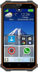 """Beafon X5 schwarz-orange Android 7.0 Outdoor-Smartphone 5"""" - vertragsfrei für alle Netze"""