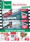 BayWa Bau- & Gartenmärkte Wochenangebote - bis 19.10.2019
