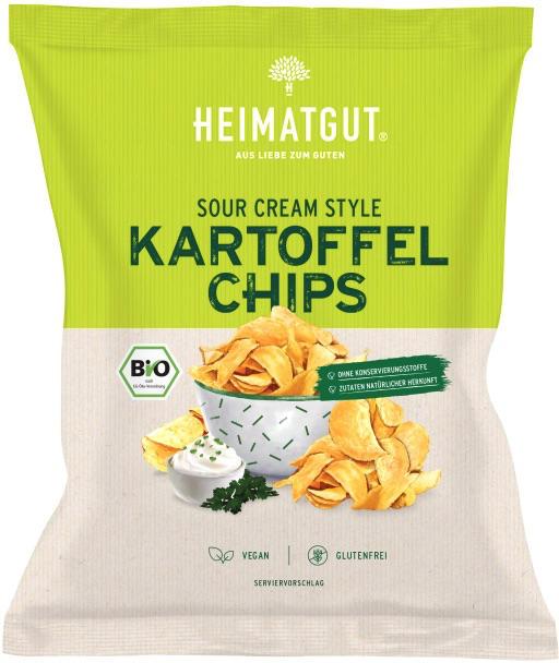 Kartoffel Chips Sour Cream