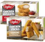 real iglo Chicken Nuggets oder Chicken Sticks gefroren, jede 250-g-Packung und weitere Sorten - bis 19.10.2019