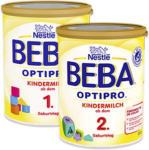 real Beba Optipro Kleinkindmilch 1 oder 2, jede 800-g-Packung - bis 19.10.2019