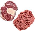 real Rinderhackfleisch oder Rinderbeinscheibe je 1 kg - bis 19.10.2019