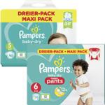 real Pampers baby-dry Windeln oder pants, jeder Dreier-Pack - bis 19.10.2019