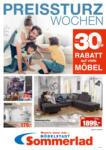 Möbelstadt Sommerlad Preissturz Wochen - bis 26.10.2019