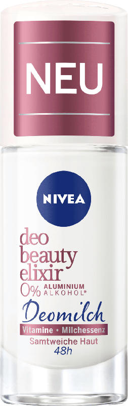 NIVEA Deo Roll-on Deodorant Beauty Elixir Deomilch