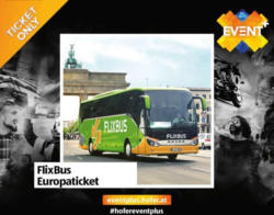 FlixBus Europaticket