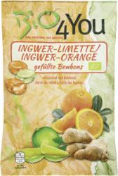 Ingwer-Limette & Ingwer-Orange Bonbons, gefüllt