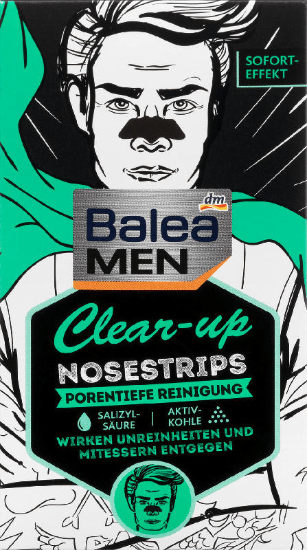 Balea MEN Clear-up Nosestrips