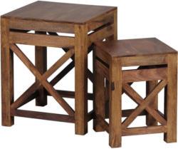 Satztisch in Holz 40/40/50 cm