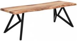 Couchtisch In Holz 115/67/46 Cm