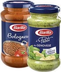 Barilla Pesto alla Genovese oder -Sauce Bolognese versch. Sorten, jedes-190/400-g-Glas und weitere Sorten