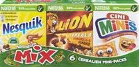 Cereali Mini Packs Mix Nestlé