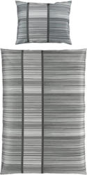 Bettwäsche Melisanda 140/200cm Grau