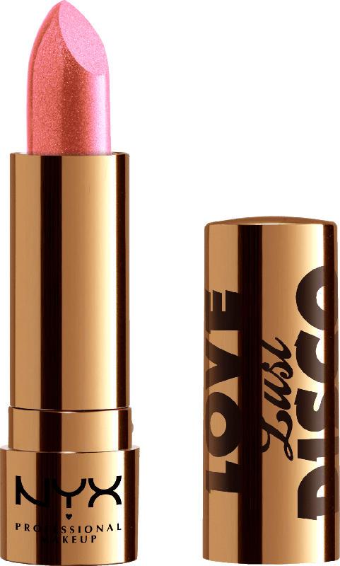 NYX PROFESSIONAL MAKEUP Lippenstift Love Lust Disco Metallic Lip Topper That's My Gem 01