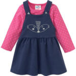Ernsting's family - Salzkammergut Einkaufspark Baby Kleid und Langarmshirt im Set