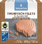 dm-drogerie markt followfish Thunfisch Filets, in eigenem Saft, MSC Zertifizierung, Fair Trade