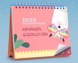 Tischkalender mit Aufsteller