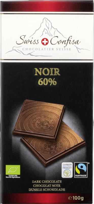 Schokolade Noir 60%