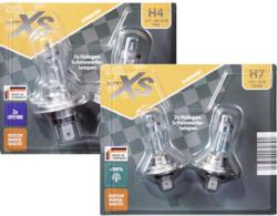 AUTO XS 2 Halogen-Scheinwerferlampen