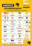 GEZ west GEZ - Einkaufsnacht am 8.11. - bis 08.11.2019