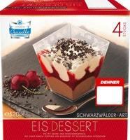 Dessert gelato Stile Foresta Nera Cristallo