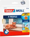 POCO tesamoll® P-Profil-Gummidichtung ca. 6 mx 9 mm x 5,5 mm weiß